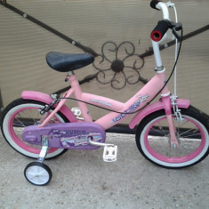 "Top Bike / Pink / bicicleta copii 14"" (4-7 ani), 1"