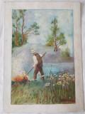 Tablou Diaconu Dumitru Peisaj 13 - 35.0 x 25.0 cm