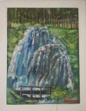 Tablou Diaconu Dumitru Peisaj 12 - 43.0 x 34.0 cm