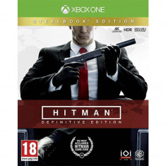 Joc consola Warner Bros Entertainment Hitman Definitive Steelbook Edition Xbox One