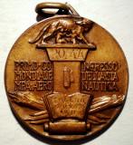 5.075 ITALIA MEDALIE PRIMUL CONGRES MONDIAL FILATELIC AERONAUTICA 1939 30mm, Europa