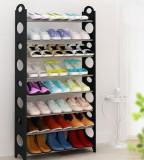 Suport incaltaminte pantofi negru 30 perechi