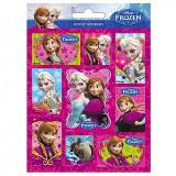Abtibilduri mari Ana si Elsa Frozen