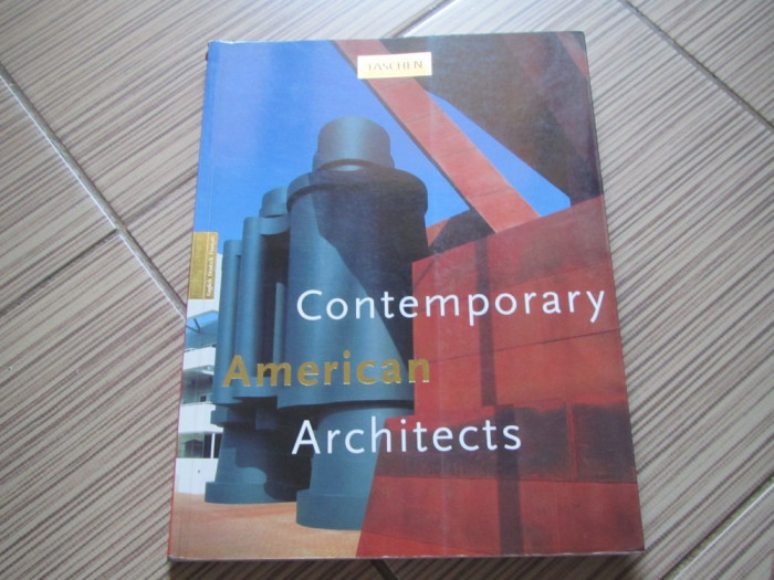 CONTEMPORARY AMERICAN ARCHITECTS TASCHEN