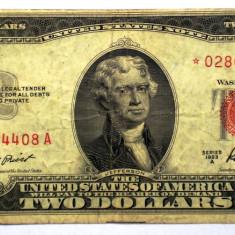 235 USA SUA 2 TWO DOLLARS 1953 A SR. 408 STEA STAR NOTE