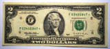 262 USA SUA 2 TWO DOLLARS 1995 SR. 847 STEA STAR NOTE