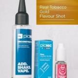 Lichid Tigara Electronica Premium Jac Vapour Real Tobacco Gold 60ml, Nicotina 3mg/ml, 80%VG 20%PG, Fabricat in UK, Pachet DiY
