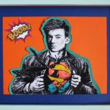 Tablou de Super-Erou/ Portret (Personalizat)/ România caută Super-eroi, Portrete, Pastel, Altul
