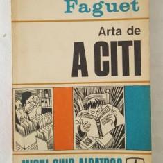 Emile Fauget - Arta de a citi