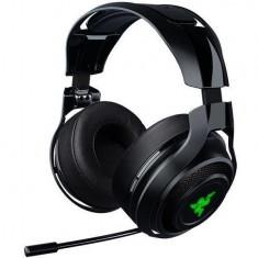 Headset Razer ManO'War, LAG Free 2.4GHz tehnologie wireless, 7.1, surround, 50mm