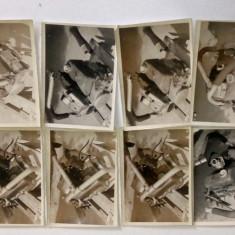 Lot fotografii vechi drujba motofierastrau  Retezat perioada RSR