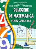 Culegere de matematica pentru clasa a VI-a