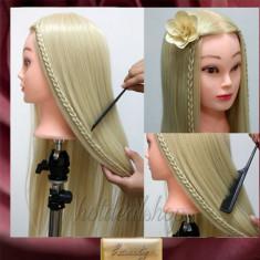 Cap Practica pupeta Coafor Frizerie Salon Blond /roscat Manechin Par Des
