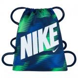 Sac de umar cu snur Nike Graphic verde