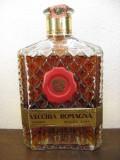 RARE brandy vecchia romagna, QUALITA' RARA, DECANTER CC 500 GR 41 ANI 1970/80