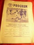 2 Programe Campionat Fotbal Romania 31 aug 1986 si 14 nov 1987 ,9+19 pag