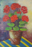 Tablou Diaconu Dumitru Flori 18 - 35.5 x 24.4 cm