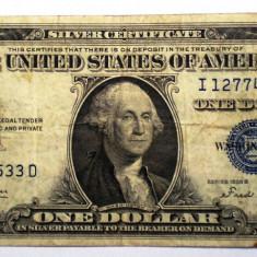 110. USA SUA SILVER CERTIFICATE 1 ONE DOLLAR 1935 B SR. 533
