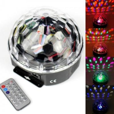 Glob Disco cu joc de lumini si telecomanda + briceag de buzunar cadou foto