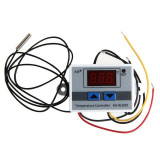 termostat digital 220v cu display lcd led temperatura senzor releu 10a