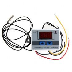 termostat digital 220v cu display lcd led temperatura senzor releu 10a