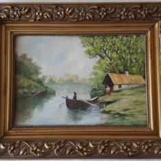 Tablou Pictor necunoscut Peisaj 5 - 35.0 x 24.6 cm