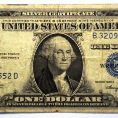 220 USA SUA SILVER CERTIFICATE 1 ONE DOLLAR 1935 A SR. 552