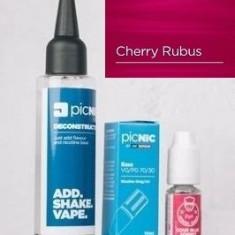 Lichid Tigara Electronica Premium Jac Vapour Cherry Rubus 60ml, Nicotina 3mg/ml, 80%VG 20%PG, Fabricat in UK, Pachet DiY