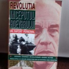 REVOLUTIA INCEPUTUL ADEVARULUI - SERGIU NICOLAESCU