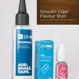 Lichid Tigara Electronica Premium Jac Vapour Smooth Cigar Tobacco 60ml, Nicotina 3mg/ml, 80%VG 20%PG, Fabricat in UK, Pachet DiY