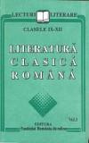 Literatura clasica romana - Lecturi literare pentru clasele V-VIII si IX-XII (3 volume)