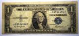 104. USA SUA SILVER CERTIFICATE 1 ONE DOLLAR 1935 F SR. 596 STEA STAR NOTE