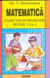 Matematica - exercitii si probleme pentru clasa I - Gh. N. Dumitrascu