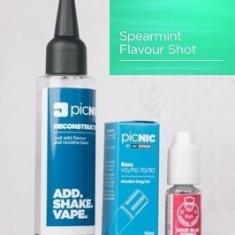 Lichid Tigara Electronica Premium Jac Vapour Spearmint 60ml, Nicotina 3mg/ml, 80%VG 20%PG, Fabricat in UK, Pachet DiY