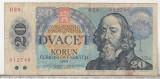 Bnk bn Cehoslovacia 20 korun 1988