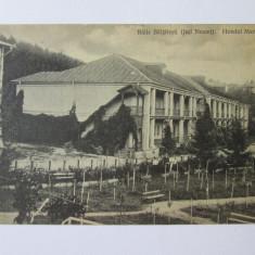 Carte postala Baile Baltatesti judetul Neamt,circulata aproximativ 1916, Printata