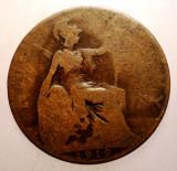 2.654 MAREA BRITANIE ANGLIA GEORGE V 1/2 HALF PENNY 1919, Europa, Bronz