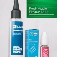 Lichid Tigara Electronica Premium Jac Vapour Fresh Apple 60ml, Nicotina 3mg/ml, 80%VG 20%PG, Fabricat in UK, Pachet DiY