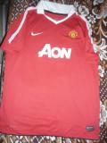 Tricou al Echipei Manchester United ,Jucator 12- Aaron , firma Nike,masura XL, Rosu