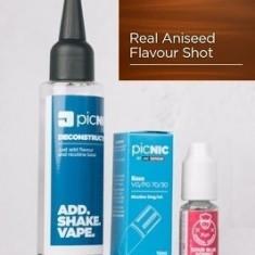 Lichid Tigara Electronica Premium Jac Vapour Real Aniseed 60ml, Nicotina 3mg/ml, 80%VG 20%PG, Fabricat in UK, Pachet DiY