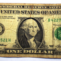 259 USA SUA 1 ONE DOLLAR 1993 SR. 521