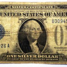 113. USA SUA SILVER CERTIFICATE 1 ONE DOLLAR 1928 A SR. 926