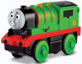 Percy Trenulet Locomotiva Motorizata Thomas&Friends Wooden Railway, Locomotive