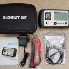 Osciloscop portabil All-sun EM125 25MHz 100MSa/s Digital 2in1 + Multimetru