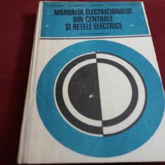 MANUALUL ELECTRICIANULUI DIN CENTRALE SI RETELE ELECTRICE