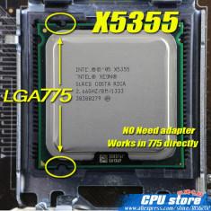 Procesor server workstation pc INTEL XEON X5355 2.66GHz 8M 120W 1333Mhz CPU 775