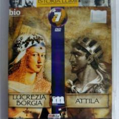 DVD Filmele Adevarul nr 7: Lucrezia Borgia; Attila