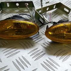 Proiectoare ceata galbene ovale