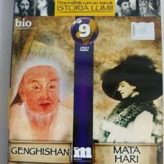 DVD Filmele Adevarul nr 9: Genghishan; Mata Hari