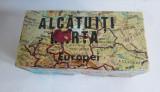 Alcatuiti harta Europei - Joc romanesc vechi puzzle, 1970